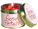 Lily-Flame Candles - Rose Petals
