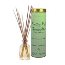 Lily-Flame Reed Diffuser - Mellow Fig and Garden Mint 100ml