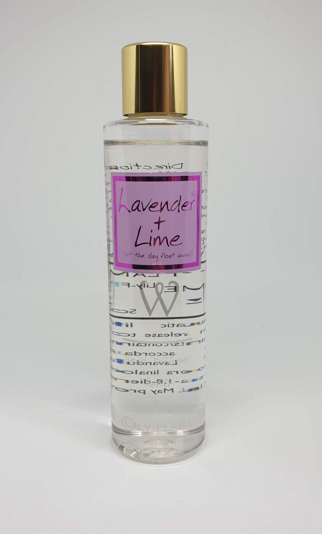 Lily flame reed diffuser refill - LAVENDER & LIME 200ml