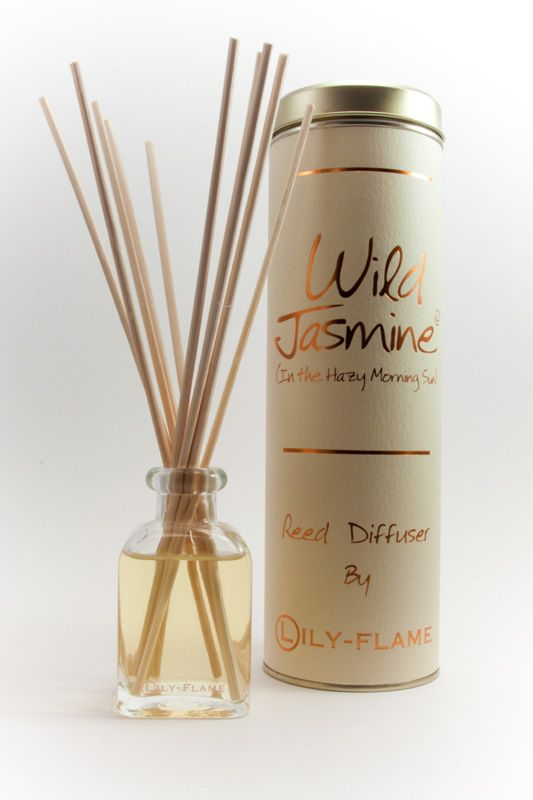 Lily-Flame reed diffuser - Wild Jasmine 100ml