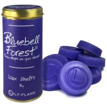 Lily-Flame Wax Melts - Bluebell Forest