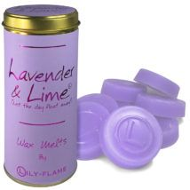 Lily-Flame Wax Melts - Lavender & Lime