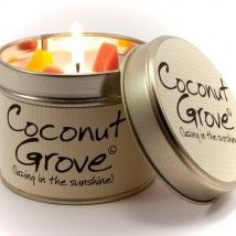 Lily-Flame candle - Coconut Grove
