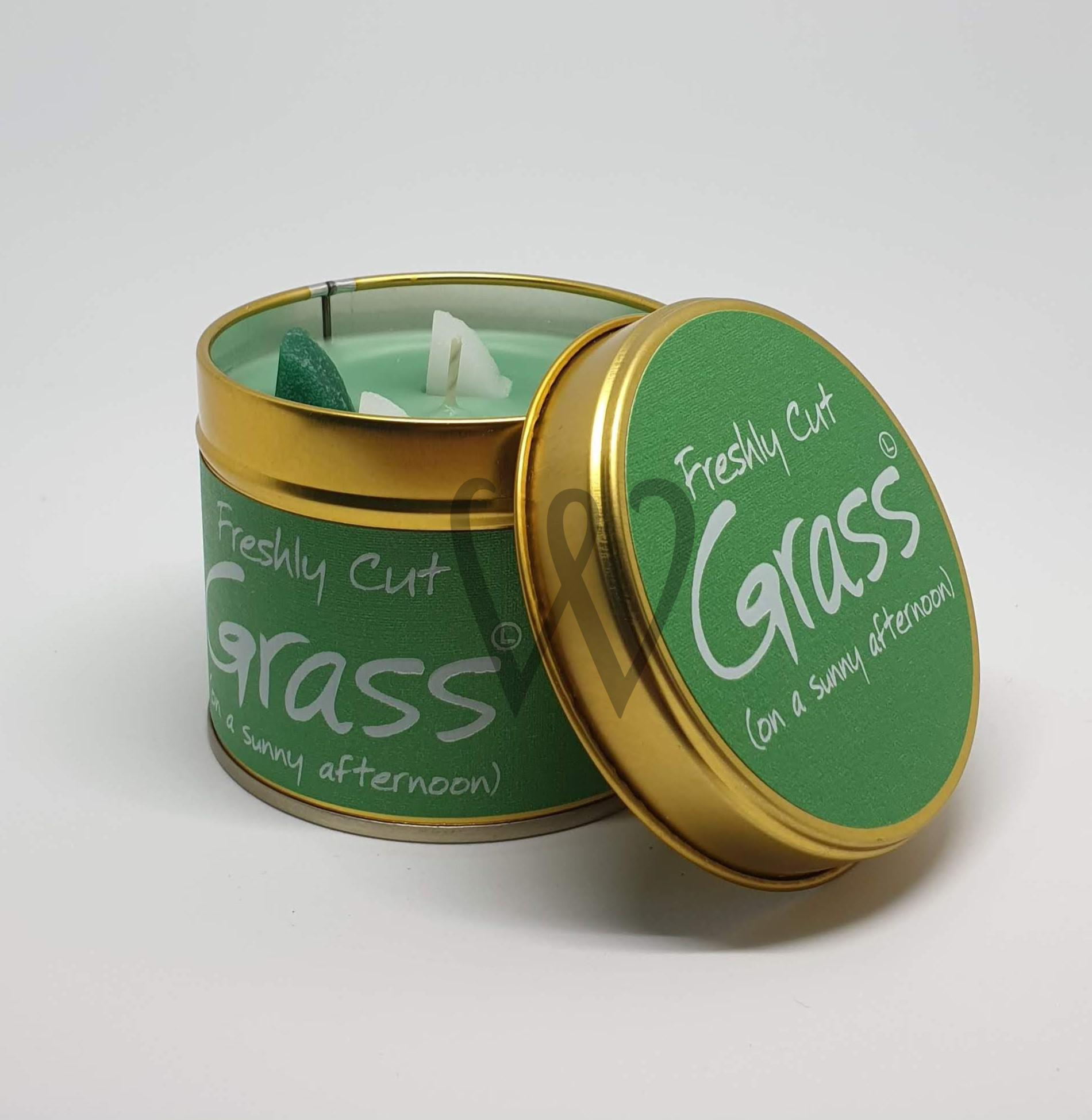 Lily-Flame candle - Cut Grass