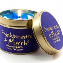 Lily-Flame candle- Frankincense & Myrrh