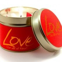Lily-Flame candle- Love