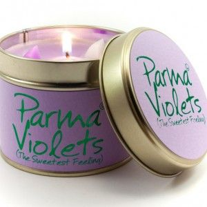 Lily-Flame candle- Parma Violets