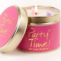 Lily-flame candle- PARTY TIME