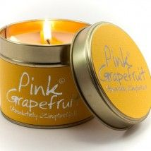 Lily-Flame candle- Pink Grapefruit
