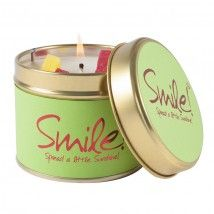 Lily-flame candles - Smile!