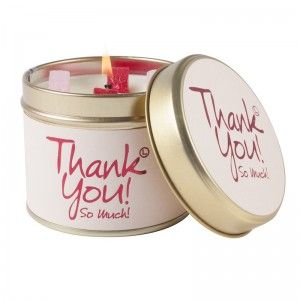 Lily-Flame candle- Thank you!