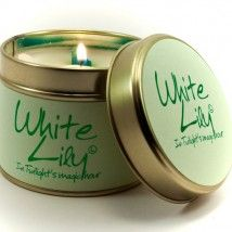 Lily-Flame candle- White Lily