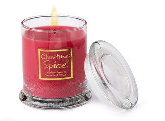 Lily-Flame glass jar - Christmas Spice