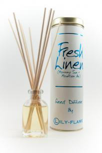Lily-Flame Reed diffuser - Fresh Linen 100ml