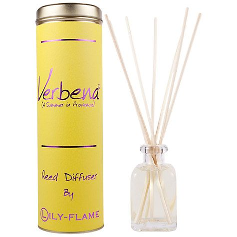 Lily-Flame Reed Diffuser - Verbena 100ml